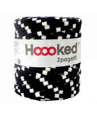 HOOOKED Mixed Zpagetti | 120m (cca. 850g) | belo na črnem ZP001-27-154
