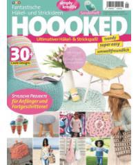 HOOOKED Kvačkanje in pletenje - revija Hoooked v nemškem jeziku MG003