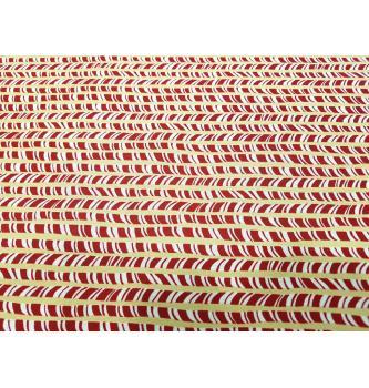 Patchwork blago   Merry wonderland   peppermint sticks   110cm