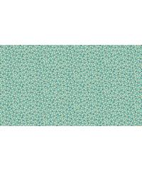MAKOWER Patchwork blago Ditzy turquoise | 110cm 1906/T