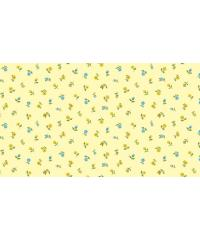 MAKOWER Patchwork blago Floral scatter yellow | 110cm 2032/Y