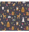 Gozdne živali | temno rjava | 95%CO / 5%EL