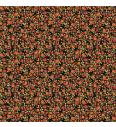 Cvetlični travnik | črna | 100%CO