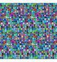 Kockice | modra | digitalni tisk | 95%CO / 5%EL