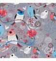 Zaljubljene ptice | siva | 95%CO / 5%EL
