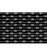 Nooteboom Puščice | bele na črnem | 100%CO 11115.069