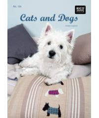 RICO Design Knjiga CATS AND DOGS | #134 23734.00.00